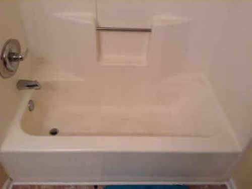 bathtub refinish before pic